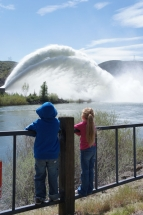 Highlight for album: Lucky Peak Rooster Tail April 28, 2012