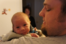 Highlight for album: Meeting Baby Xander